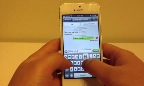 Solution: how to recover deleted messages from iPhone without backup