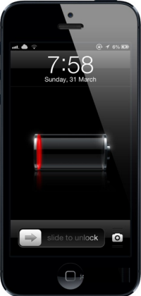 iPhone won't start
