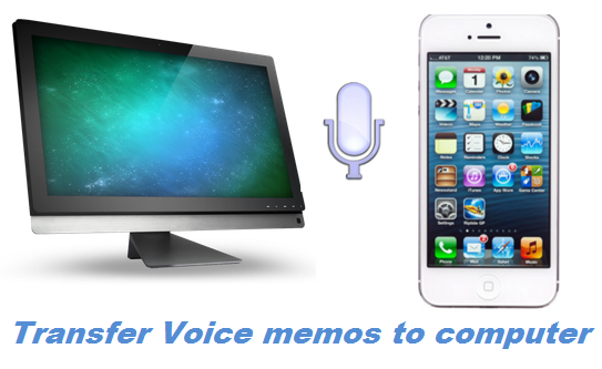 how to download voice memos from iphone to mac