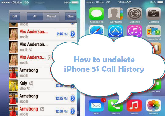 how to delete history on iphone 5c