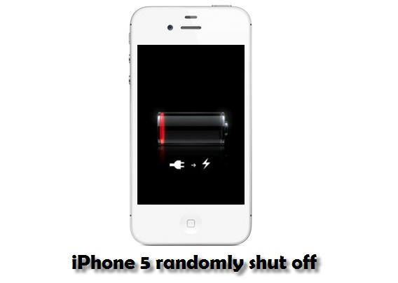 Iphone  Shuts Off Randomly