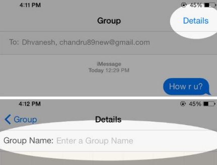 how to start a group text on iphone