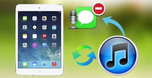 how to send a message from ipad mini