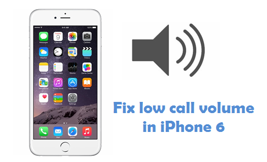 Fix low or increase Call Volume in iPhone 10, 10 plus