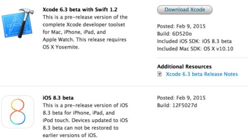iOS 8.3-beta