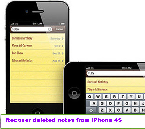 How Can I Recover My Notes On Iphone