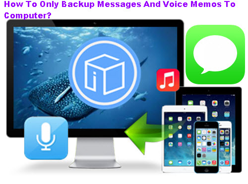How-To-Only-Backup-Messages-And-Voice-Memos-To-Computer