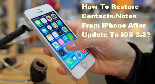 How to Recover Data after Restore iPhone to Factory Settings