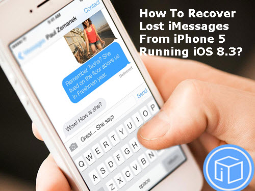 how to go back in messages on iphone
