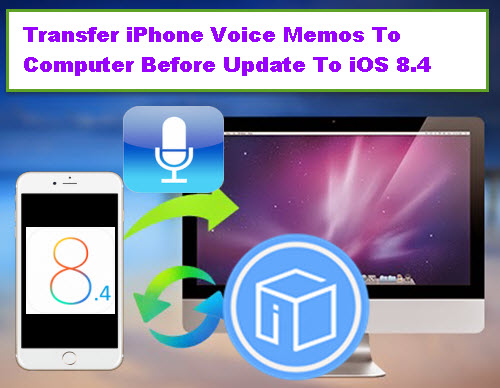 how to send voice memos from iphone to computer