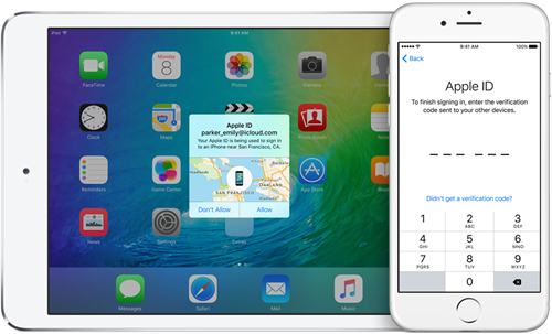 iOS-9-two-factor-authentication