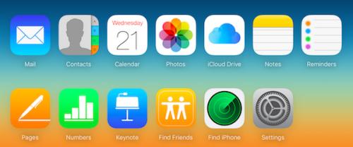 Find-My-Friends-iCloud-website