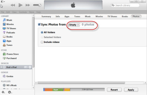 delete_iphone_photos_from_itunes_mac