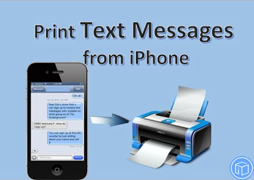 How To Export And Print Text Messages From iPhone 7?