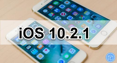 ios 10.2.1 update