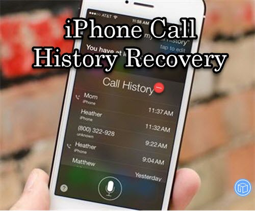 get back disappeared call history on ios 10.3