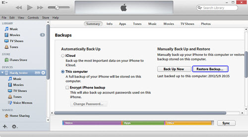 restore-from-backup-using-itunes-method-2