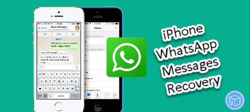 recover deleted iphone whatsapp messages on laptop