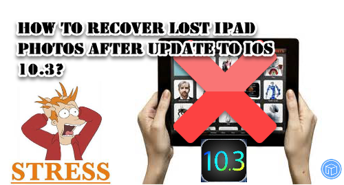 restore missing ipad images after install ios 10.3