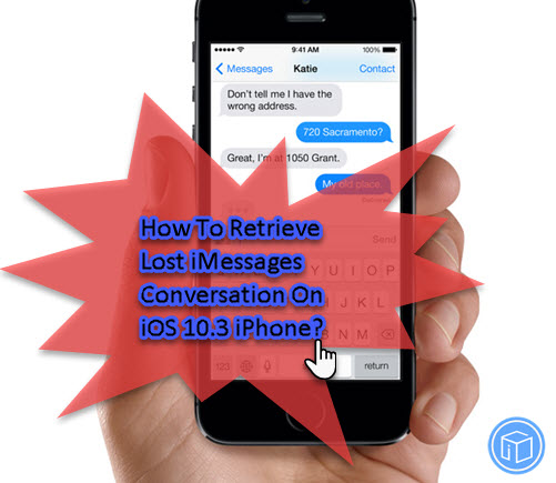 recover missing imessages