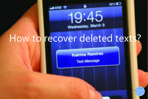 restore missing texts