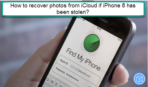restore pictures from icloud if iphone 8 has been stolen