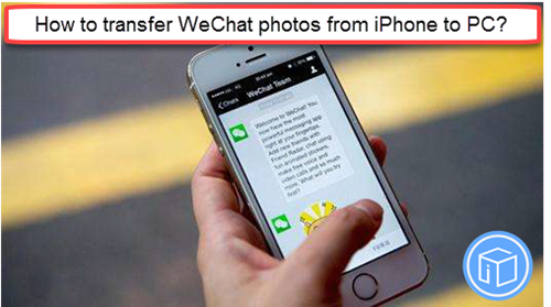 upload wechat pictures from iphone to pc