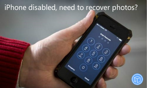 restore pictures from disabled iphone