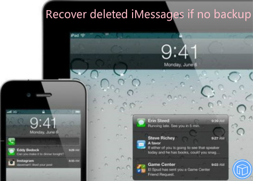 restore missing imessages if no backup