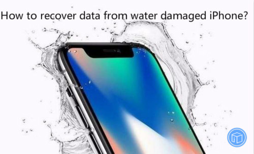 restore data from water damages iphone