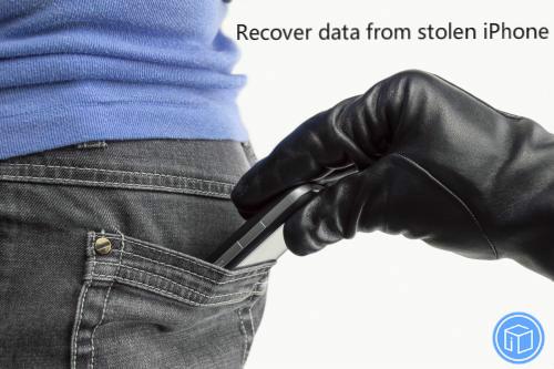 retrieve data from stolen iphone