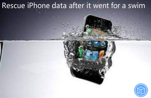 recover data if iphone falls into water