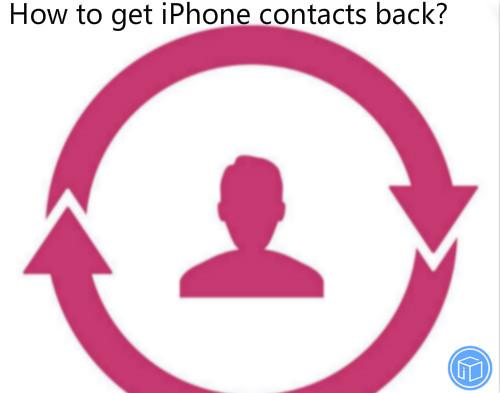 restore contacts