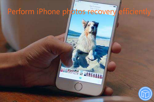 operate iphone pictures restoration effectively