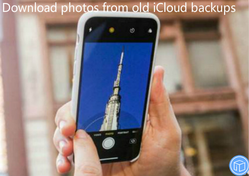 extract pictures from icloud backup without restoring the device