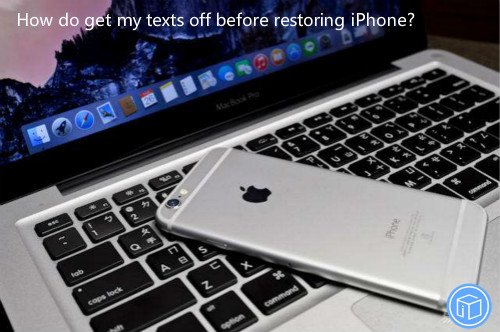 save texts before you restore