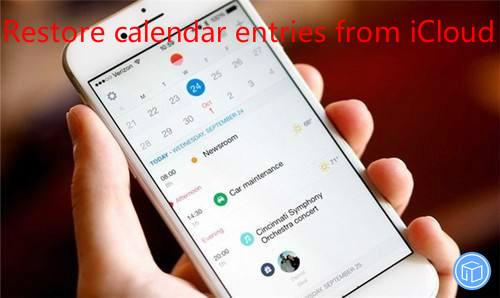 extract calendar events from icloud