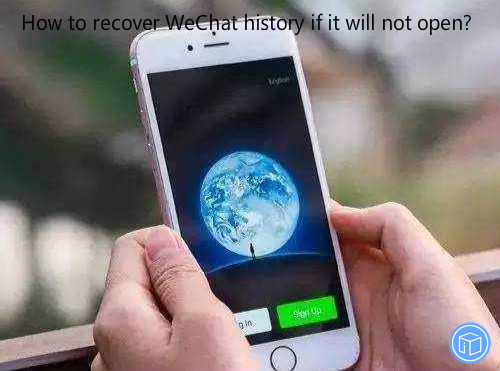 restore iphone wechat messages if it won't turn on