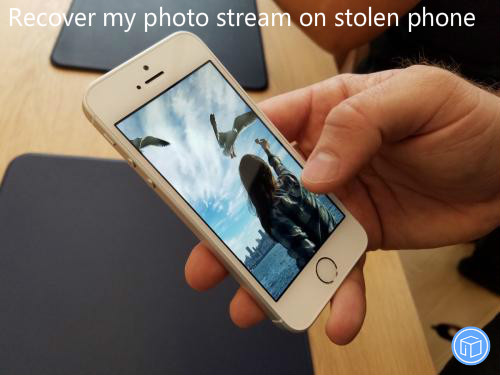 get photos back from stolen iphone