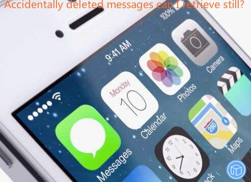 restore suddenly erased messages