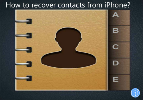 restore contacts from iphone