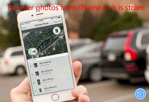 restore pictures if iphone is stolen