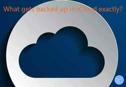 read what is strored in icloud backup