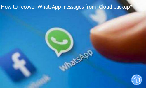 download whatsapp data from icloud backup