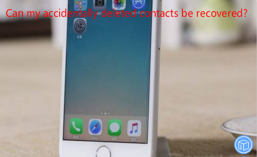 restore mistakenly erased contacts