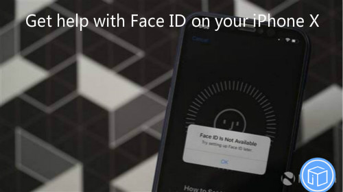 fix face id issue on your iphone x