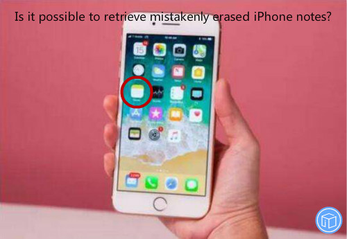 get suddenly lost iphone notes back