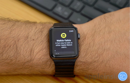 apple's walkie-talkie app in watchos 5 enables you talk to your friends in a minute