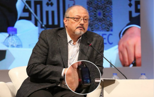 graphic 7 minute audio of jamal khashoggi's murder again related to journalist's apple watch