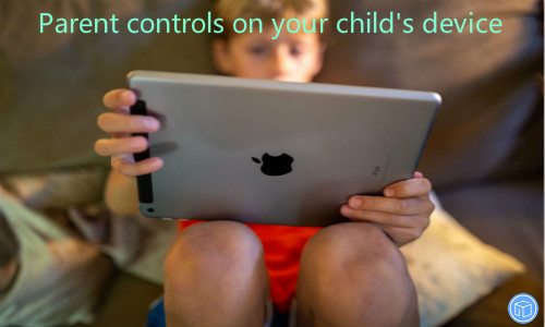 get help of parent controls on your child's iphone/ipad/ipod touch